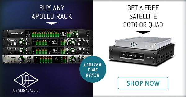 Apollo Rack + Free Satellite Promo