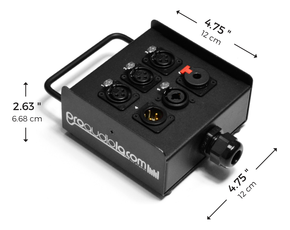 6-Channel Wall Box Measurments