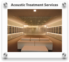 Acoustical Treatment Services