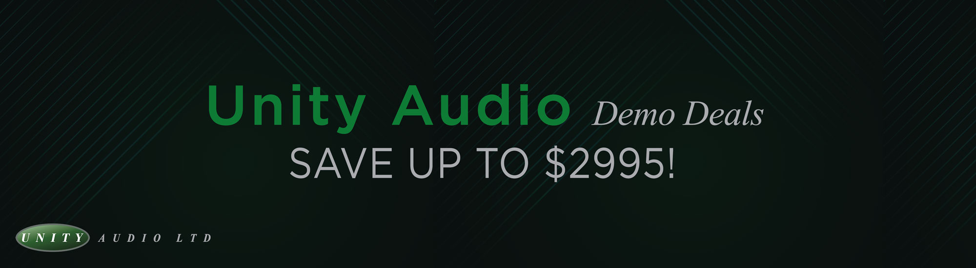 Unity Audio Demo Sale