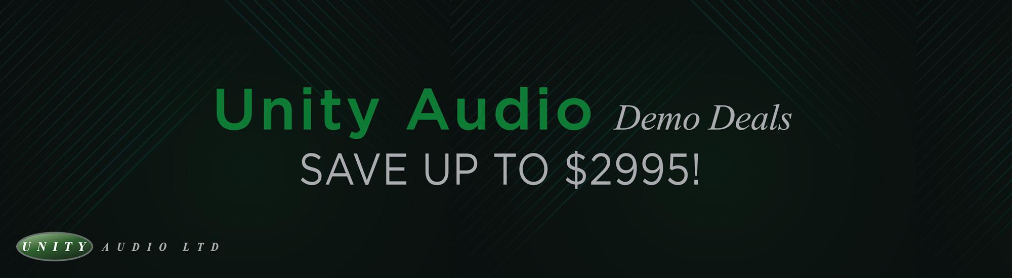 Unity Audio Demo Sale