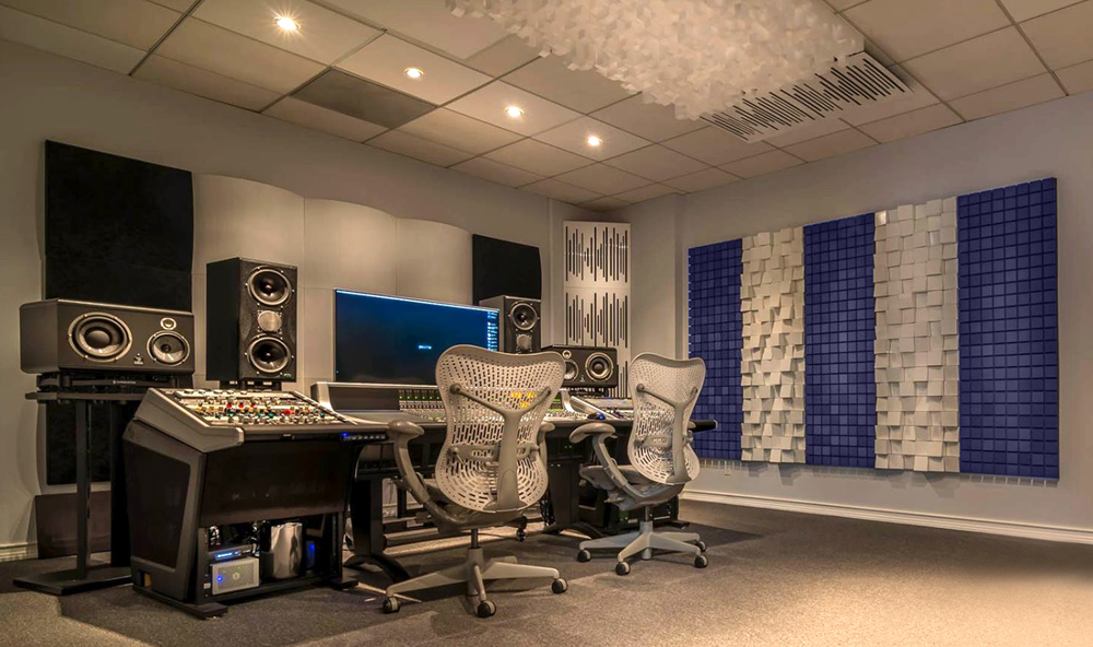 SSL Mix Room