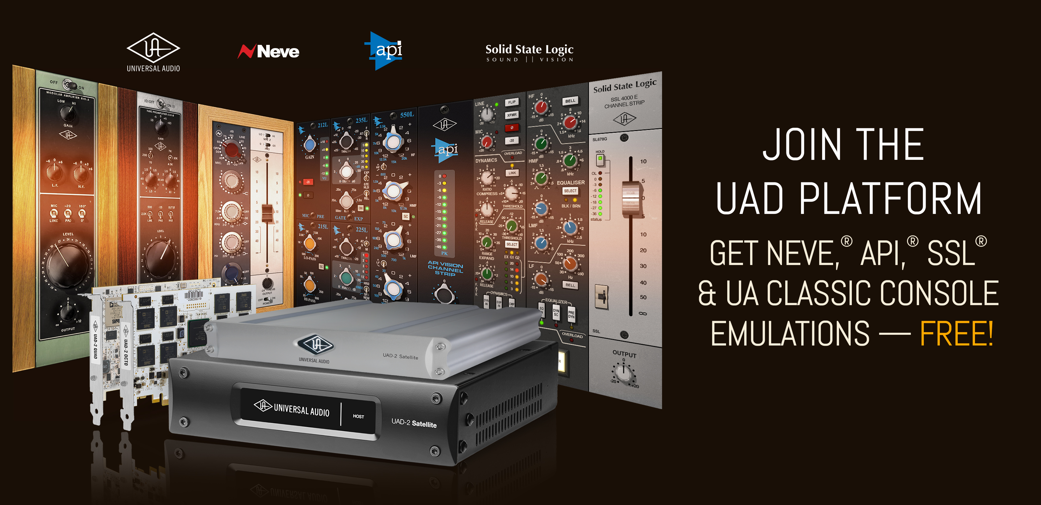 Universal Audio UAD-2 DSP Promotion