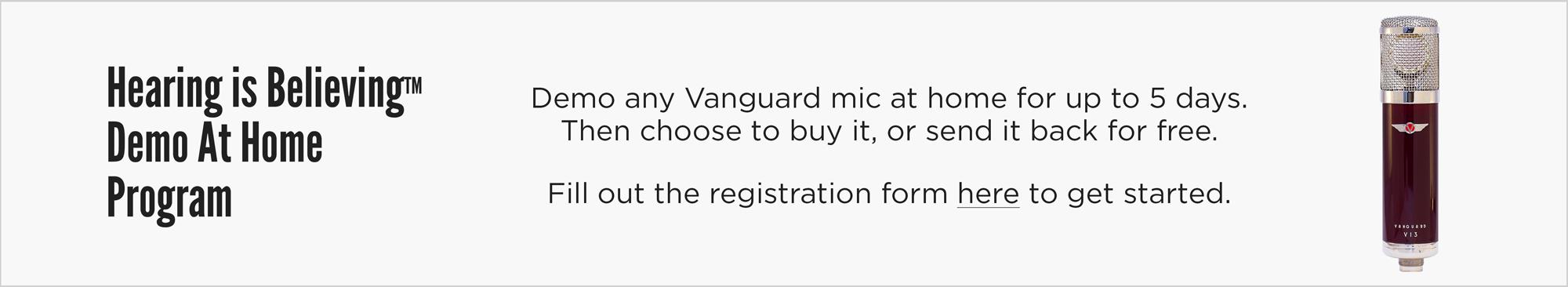 Vanguard Hearing is Believing Program