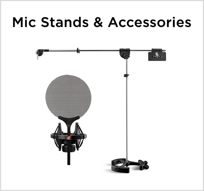 Mic Stand and Accessories